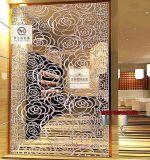 不鏽鋼屏風廠家 酒店餐廳不鏽鋼屏風 屏風隔斷加工定製