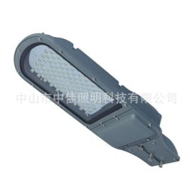 户外led搓衣板路灯头30W50W60W平板灯单颗贴片压铸庭院路灯成品