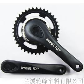 WHEEL TOP轮峰牙盘链轮曲柄配件 山地车公路自行车零配件