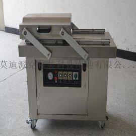 供应南通400双室真空包装机休闲食品鱼豆腐食品真空包装机