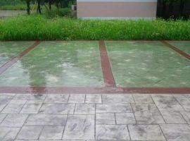 重庆市;压花地坪;压模地坪材料;透水地坪材料;透水混凝土等