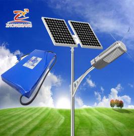 楚雄太阳能路灯厂家锂电池配置