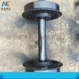 工廠定製 礦車單輪礦車輪對 鑄鐵鑄鋼空實心礦車輪對
