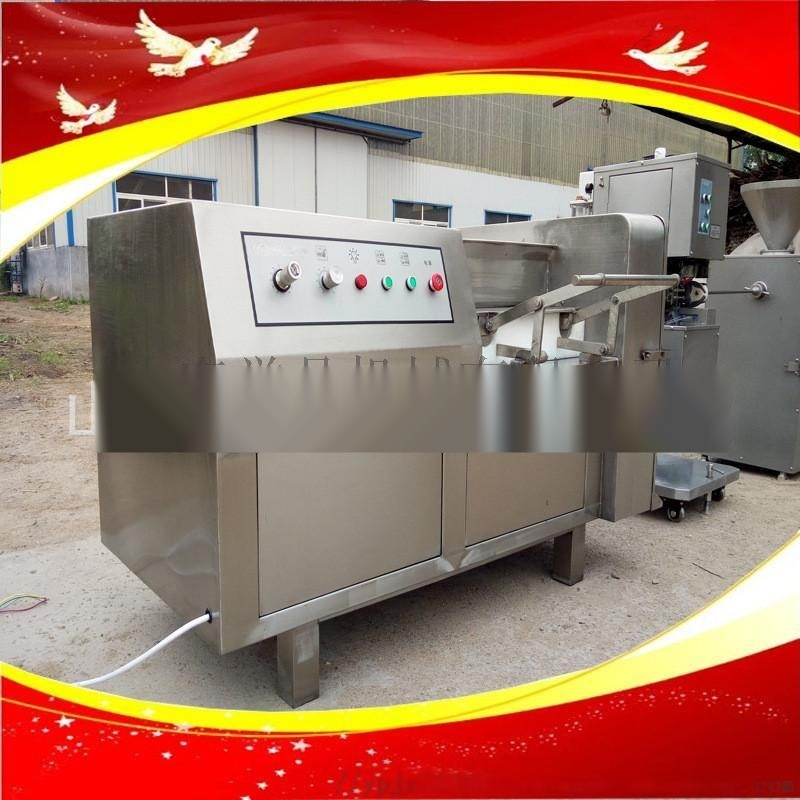 全自动冻肉切丁机诸城供应切肉丁机器多少钱