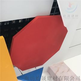 防火防潮玻纤吸音板 轻质墙面吸音体装饰板