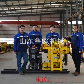 130百米钻机 液压工程勘探钻机 柴油机
