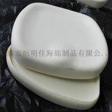 PU发泡儿童学习椅海绵坐垫 聚氨酯高密度发泡定型坐椅绵厂家