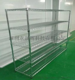 不锈钢线网货架 不锈钢小货架 不锈钢货架生产厂家