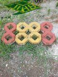 紅色8字形草坪磚鄭州透水磚廠家直銷15737108092