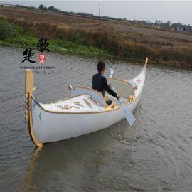 威尼斯贡多拉游船山东云南木船厂家出售酒店装饰船婚纱摄影特殊道具船