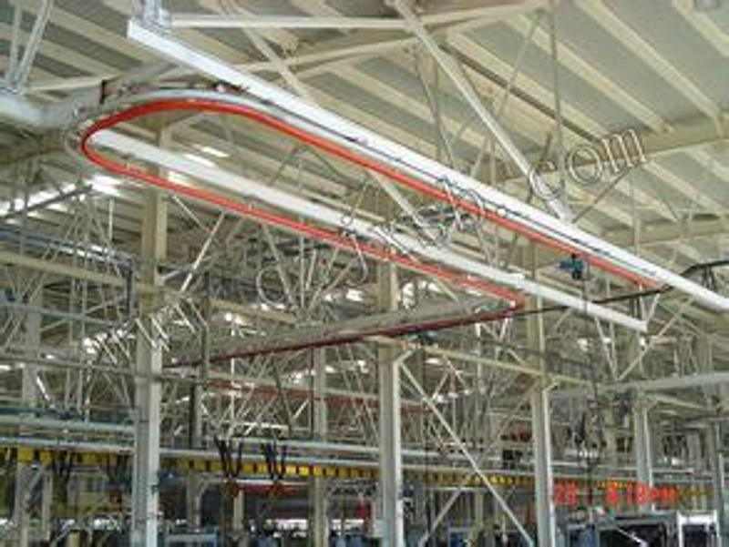 1000kg立柱式KBK旋臂吊 手动悬臂起重机