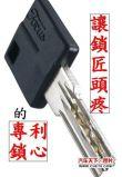 台湾陆凯企业东莞富克仕电脑匙专利锁心藏心锁