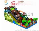 北京儿童充气城堡滑梯大型蹦床