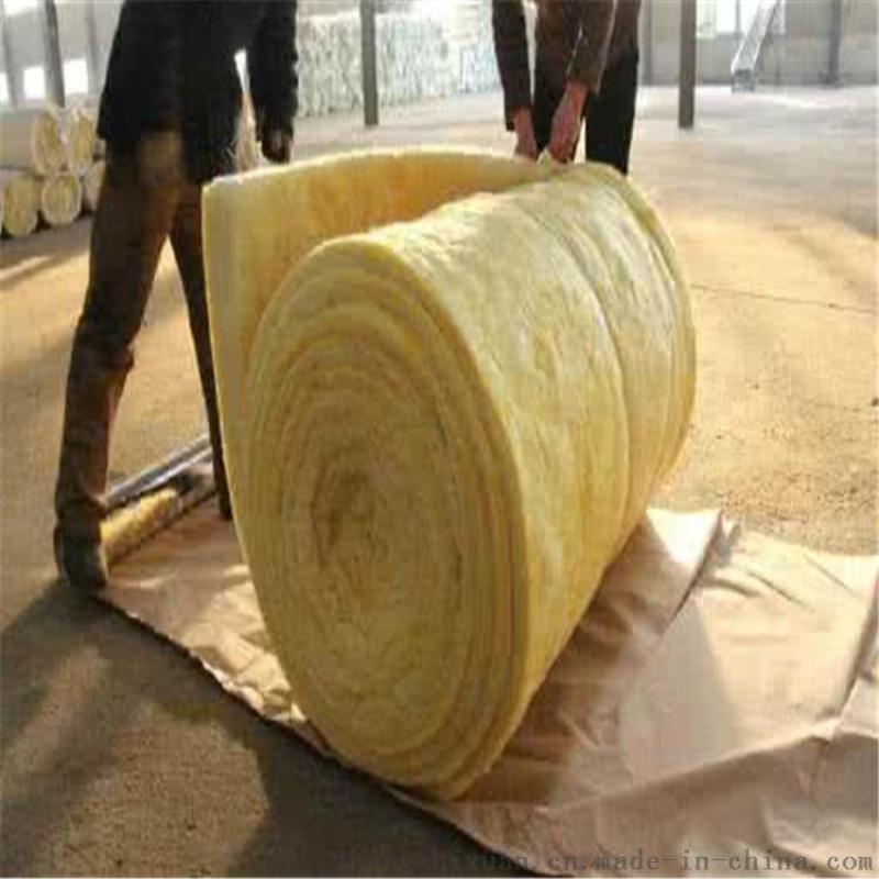 高温玻璃板 玻璃棉卷毡韧度强容重轻