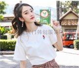 外贸库存女装短袖韩版宽松大版女装直批