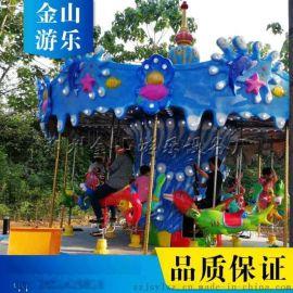 旋转木马价格 公园儿童旋转木马游乐设备 金山游乐