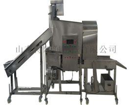 汴州 自动连续菜丸子裹粉机 GH4丸子滚筒裹粉设备