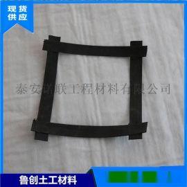 施工方便钢塑复合土工格栅 抗腐蚀高强度钢塑格栅