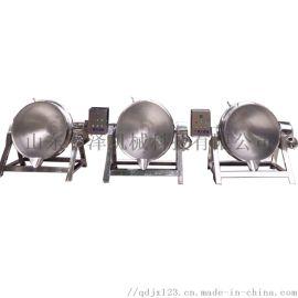 制造炊事设备厂家 香菇辣酱炒锅 导热油不锈钢炒锅