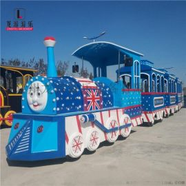 景区观光托马斯无轨仿古观光小火车