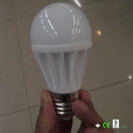 陶瓷LED球泡灯,5*1W 5W节能球泡灯