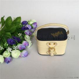 珠宝首饰收纳盒 便携饰品皮盒 高档礼品皮盒