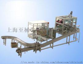 全自动机器人装箱机_自动装箱机_火锅底料装箱生产线