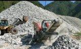 时产200吨移动碎石机-移动磕石机-机制砂生产设备