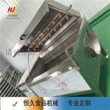蕨菜干清洗烘干设备  蔬菜清洗加工处理设备