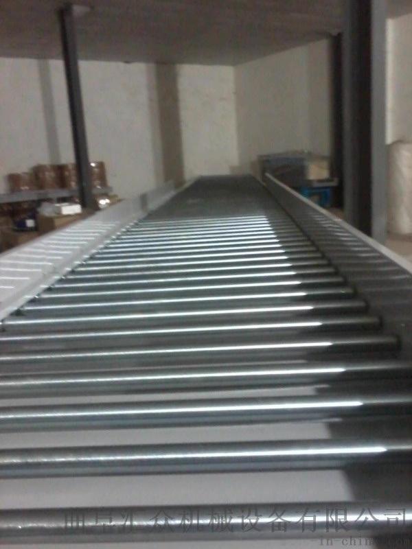 生產分揀傾斜輸送滾筒鋁型材 線和轉彎滾筒線