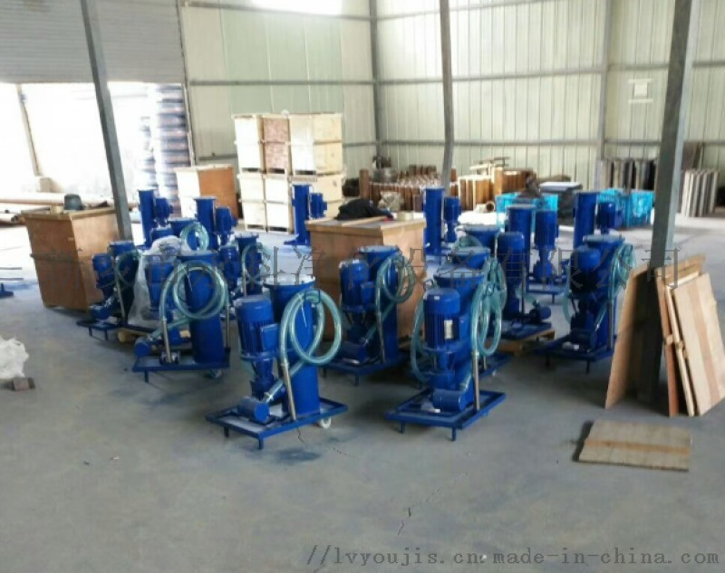 LUC-16x10系列精細濾油車過濾車永科淨化移動過濾推車