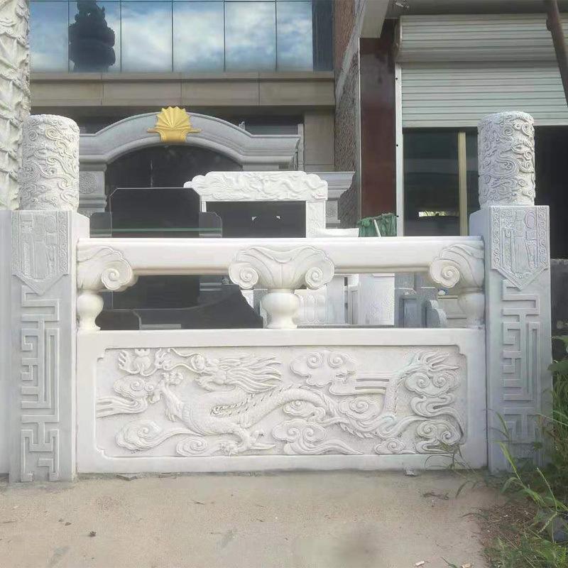 供应大理石栏杆-大理石栏杆雕刻制作