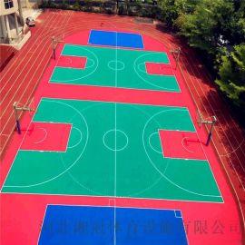 天水市幼儿园软质悬浮地板天水篮球场地垫拼装地板