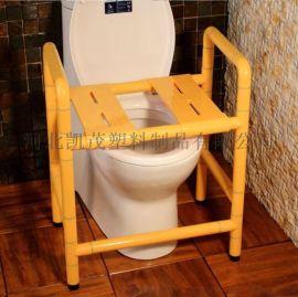 卫生间浴室带扶手洗澡椅 淋浴凳 多功能护理不锈钢折叠凳