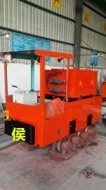 蓄电池电机车2.5吨蓄电池式电机车