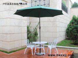中柱遮阳伞A-S275a|露台遮阳伞|单边伞