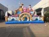 新款巨鲨来袭大滑梯 广场大气包 儿童蹦蹦床跳跳床