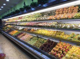 平顶山风幕柜超市饮料展示柜冷藏柜厂家定做生产直销
