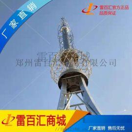 30米装饰避雷塔 古建筑装饰塔 独立避雷塔 办公楼 医院专用