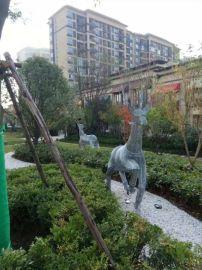 西安不锈钢雕塑生产厂家,西安不锈钢雕塑安装技术 西安公园雕塑批发