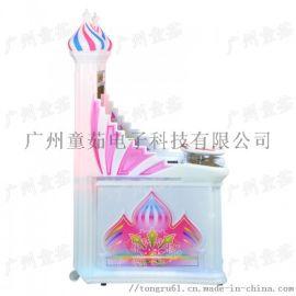 新款童茹 4合1赛车游戏机 室内投币娱乐北京赛车游