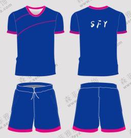 夏足球服男套装短袖球衣训练服定制 户外跑步服
