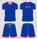 夏足球服男套裝短袖球衣訓練服定製 戶外跑步服