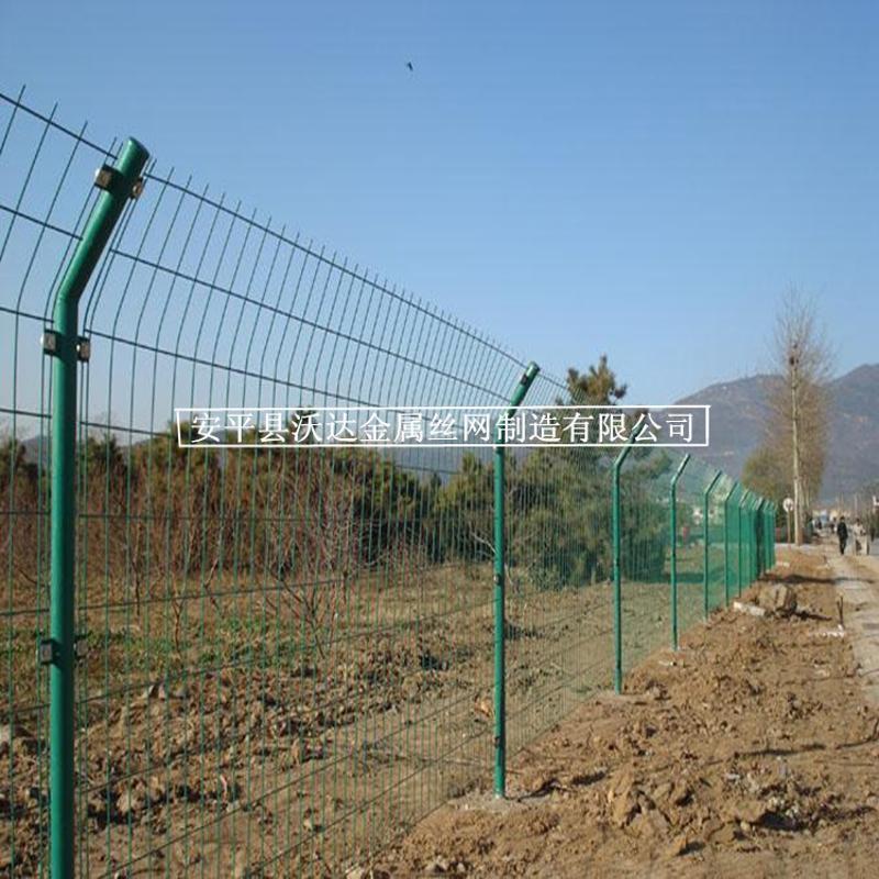 沃达供应双边护栏网 围墙护栏网 绿色铁丝网大量现货出售
