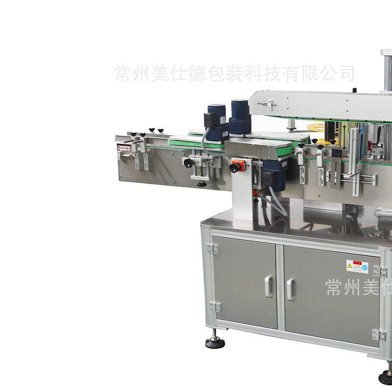 厂家直销自动平面贴标机全自动侧面贴标机机油洗涤剂智能贴标设备