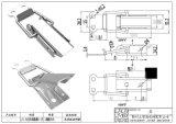 廠家直銷QF-518 電纜橋架盒S304不鏽鋼搭扣(圖)
