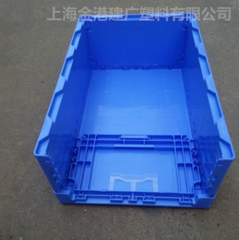 厂家直销 S602塑料折叠箱 电子包装箱350*270*160 塑料周转箱