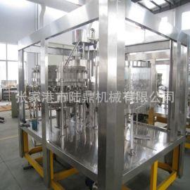 BCGF系列啤**冲洗灌装封口一体机 玻璃瓶等压灌装生产制造商