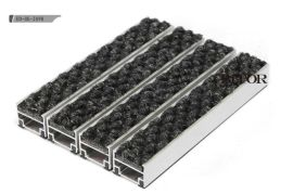 海星地垫, 铝合金防尘地毯, 刮泥垫