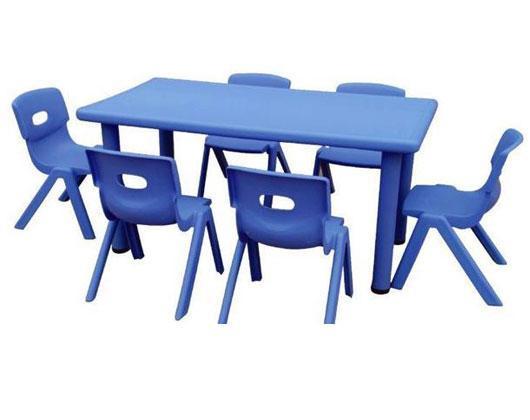 供应百色幼儿园塑料课桌,百色儿童塑料椅子批发价